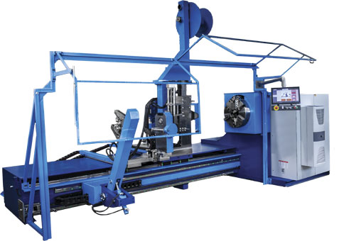 cold lathe coiling machines
